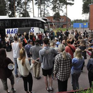 Ethno 2016, Buss Med Utländska Deltagare
